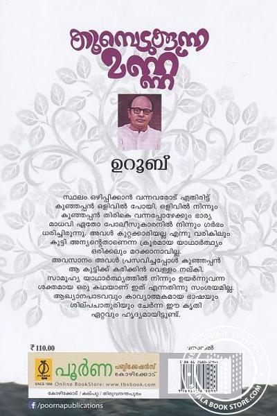 back image of Koombedukkunna Mannu