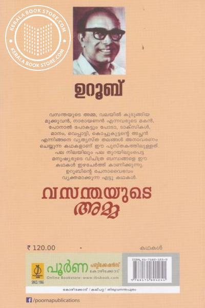 back image of വസന്തയുടെ അമ്മ