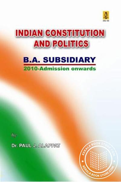 Cover Image of Book Indian Constitution and Politics