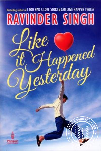 Cover Image of Book Like it Happened Yesterday