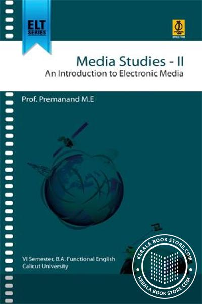 Cover Image of Book Mediastudies-2