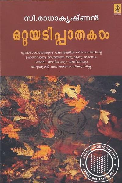 Cover Image of Book ഒറ്റയടിപ്പാതകള്