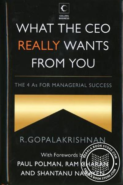 Cover Image of Book What the CEO really Wants from You