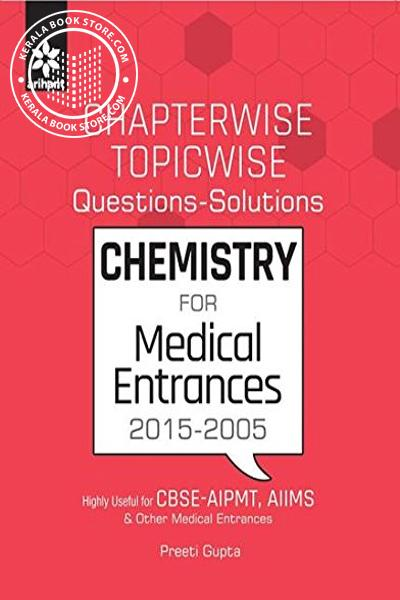 Image of Book CHAPTERWISE TOPICWISE QUESTIONS and SOLUTIONS - CHEMISTRY