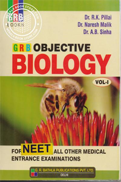 Image of Book GRB OBJECTIVE BIOLOGY FOR NEET-VOL 1