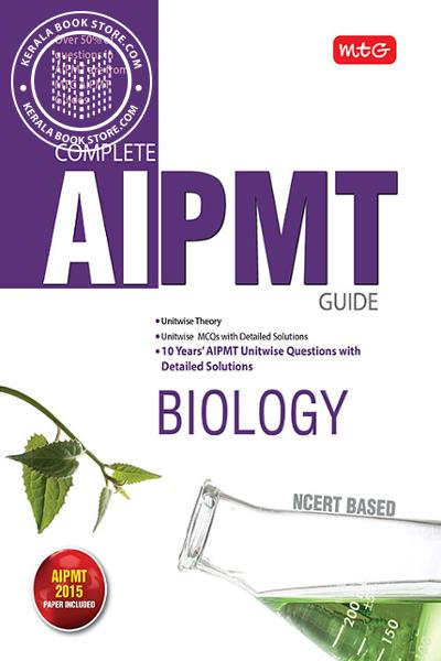 Cover Image of Book MTG - COMPLETE AIPMT BIOLOGY