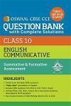 Thumbnail image of Book OSWAAL CBSE QUESTION BANK CLASS X - ENGLISH COMMUNICATIVE