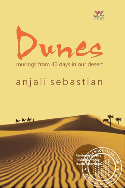 back image of Dunes Musings from 40 days in our desert